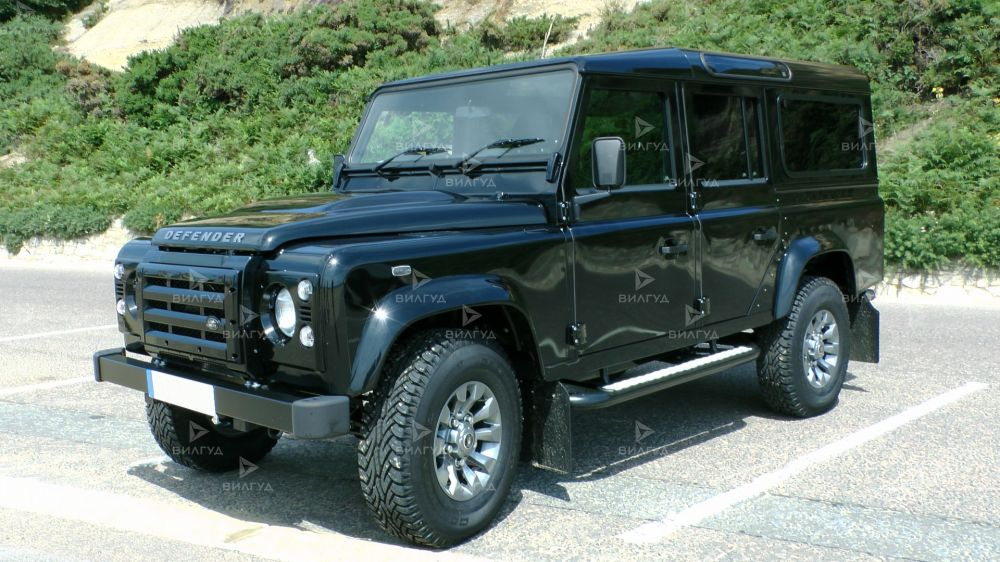 Диагностика ошибок сканером Land Rover Defender в Кирове